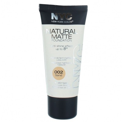 Image of   NYC Natural Matte Foundation 02 Sand 30 ml