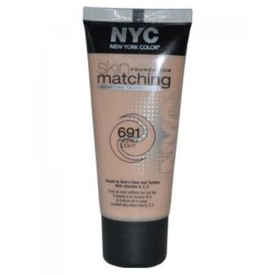 Image of   NYC Skin Matching Foundation 691 Honey Light 30 ml