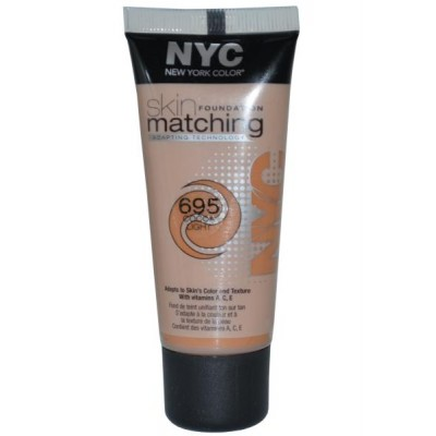 Image of   NYC Skin Matching Foundation 695 Cocoa Light 30 ml