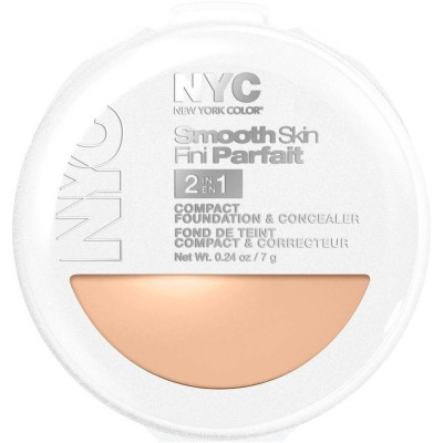 Image of   NYC Smooth Skin 2 in 1 Compact Foundation 04 Dark 7 g