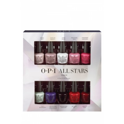 Image of   OPI All Stars 10 Pack 10 x 3,75 ml
