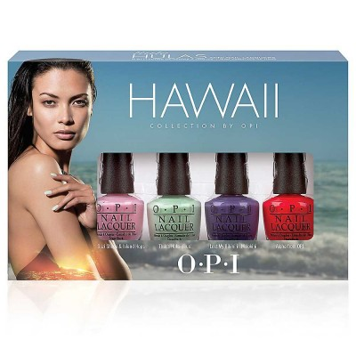 Image of   OPI Hawaii Mini Nail Polish Collection 4 x 3,75 ml