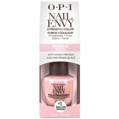 Image of   OPI Nail Envy Nail Strengthener + Color Bubble Bath 15 ml