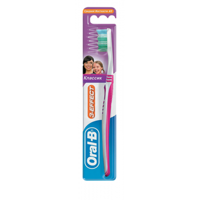 Oral-B 3-Effect Classic Medium 1 stk