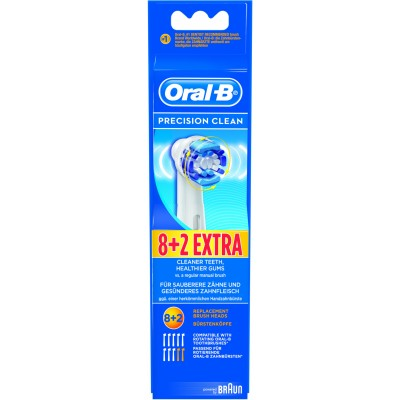 Oral-B Precision Clean 10 pcs