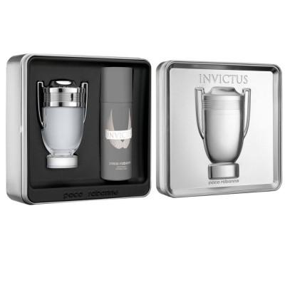 Paco Rabanne Invictus EDT & Invictus Deodorant 100 ml + 150 ml