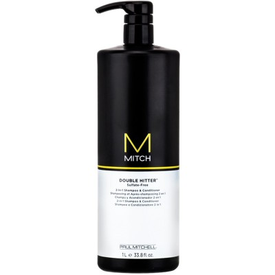 Image of   Paul Mitchell Mitch Double Hitter 2-in-1 Shampoo & Conditioner 1000 ml