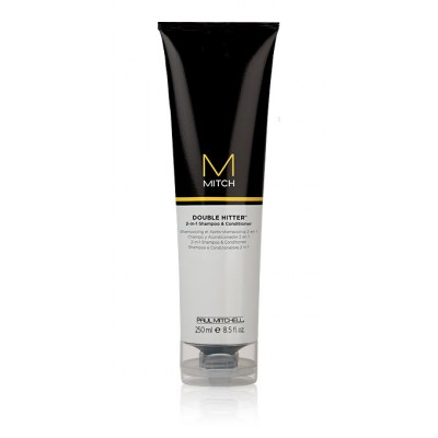 Image of   Paul Mitchell Mitch Double Hitter 2-in-1 Shampoo & Conditioner 250 ml