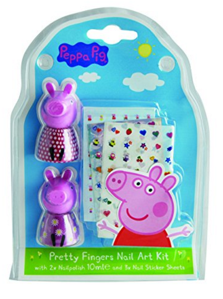 Peppa Pig Nail Art Kit 1 pcs - £1.25