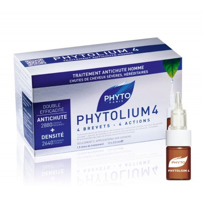 Phyto Phytolium 4 Chronic Thinning Hair Treatment 12 x 3,5 ml