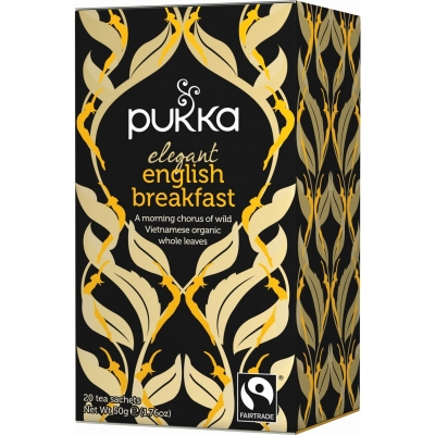 Pukka Elegant English Breakfast Tea Luomu 20 pussia