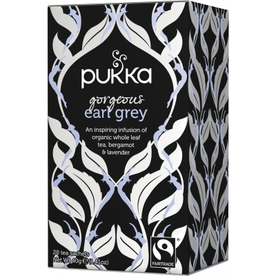 Pukka Bio-Tee Gorgeous Earl Grey 20 stk