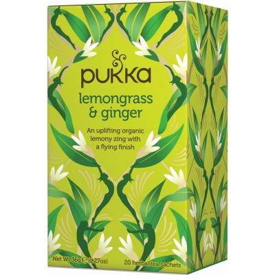 Pukka Lemongrass & Ginger Tea Øko 20 breve