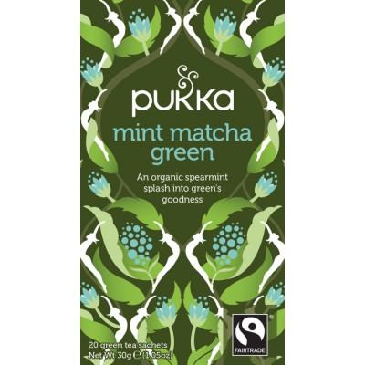 Pukka Bio-Tee Mint Matcha Green 20 stk