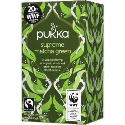 Pukka Supreme Matcha Green Tea Øko 20 breve
