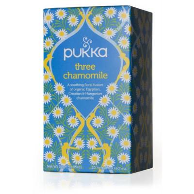 Pukka Three Chamomile Tea Eco 20 st
