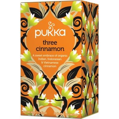 Pukka Three Cinnamon Tea Øko 20 breve