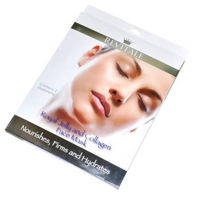Revitale Gelée Royal & Kollagen Gesichtsmaske 2 stk