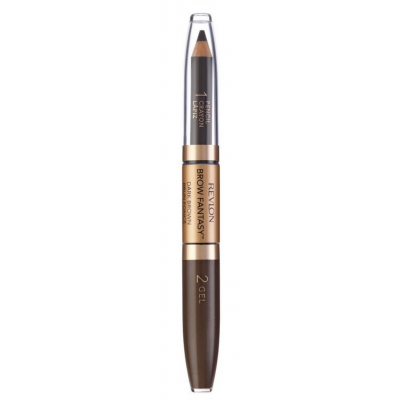 Image of   Revlon Brow Fantasy Pencil & Gel Brown 1,49 g