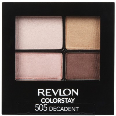Image of   Revlon Colorstay 16 Hour Eye Shadow Quad 505 Decadent 4,8 g