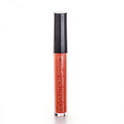 Image of   Revolution Makeup Amazing Lipgloss Coral 4 g