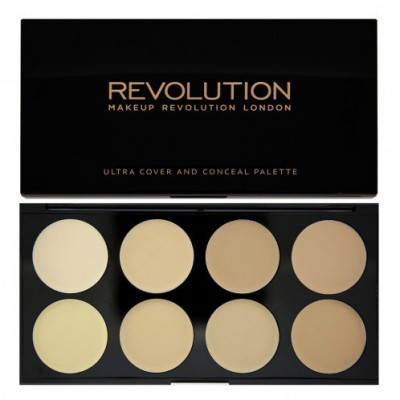 Revolution Makeup Cover & Conceal Palette Light 10 g