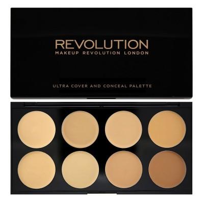 Revolution Makeup Cover & Conceal Palette Light Medium 10 g