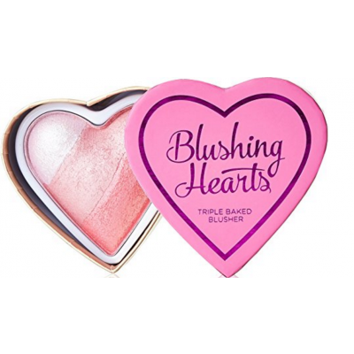 I Heart Makeup Blushing Hearts Triple Baked Blusher Bursting With Love 10 g
