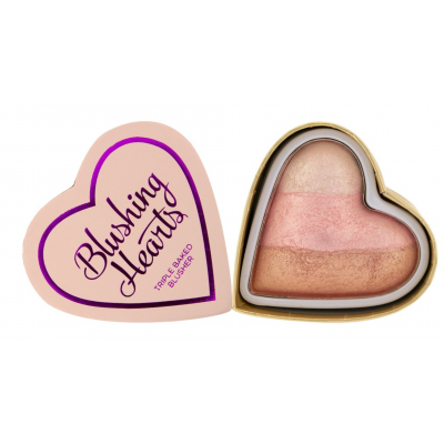 I Heart Makeup Blushing Hearts Triple Baked Blusher Iced Hearts 10 g