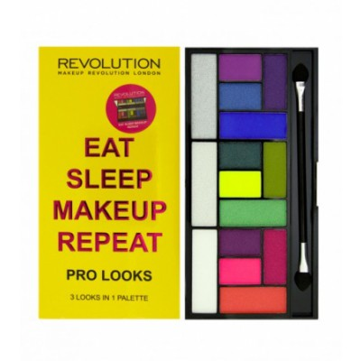 Image of   Revolution Makeup Pro Looks Palette Eat Sleep Makeup Repeat 13 g