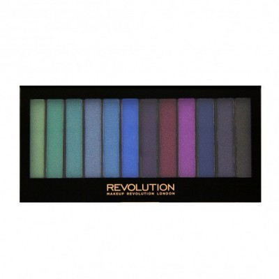 Image of   Revolution Makeup Redemption Palette Mermaids VS Unicorns 14 g