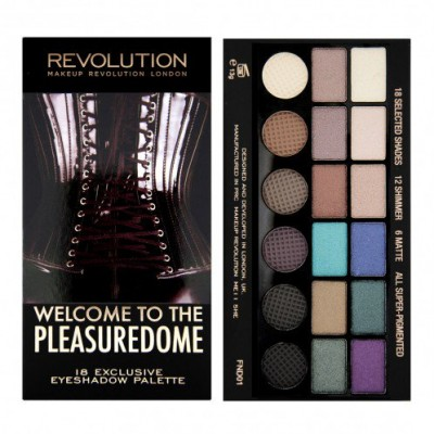 Image of   Revolution Makeup Salvation Palette Welcome To The Pleasuredome 13 g