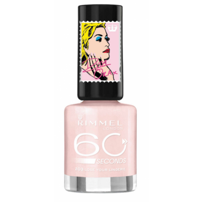 Image of   Rimmel 60 Seconds 203 Lose Your Lingerie 8 ml