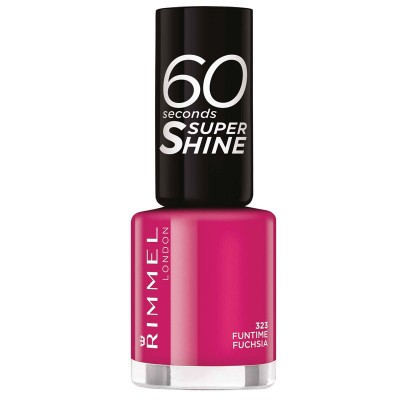 Image of   Rimmel 60 Seconds 260 Funtime Fuchsia 8 ml
