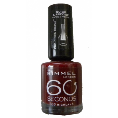 Image of   Rimmel 60 Seconds 330 Highland 8 ml