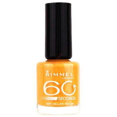 Image of   Rimmel 60 Seconds 401 Mellow Yellow 8 ml