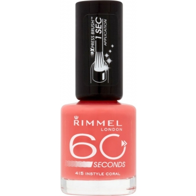Image of   Rimmel 60 Seconds 415 Instyle Coral 8 ml