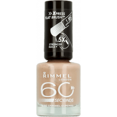Image of   Rimmel 60 Seconds 500 Caramel Cupcake 8 ml