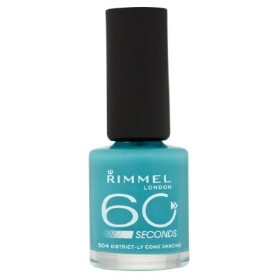 Image of   Rimmel 60 Seconds 504 Districtly Come Dancing 8 ml