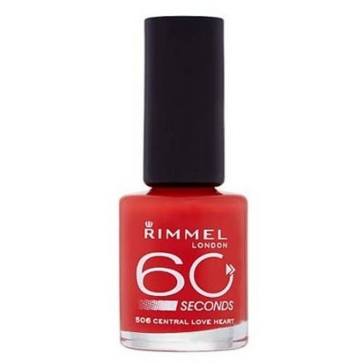 Image of   Rimmel 60 Seconds 506 Central Love Heart 8 ml