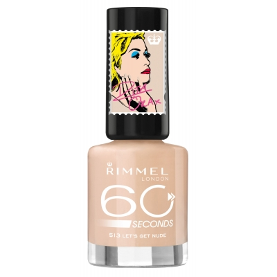 Image of   Rimmel 60 Seconds 513 Lets Get Nude 8 ml