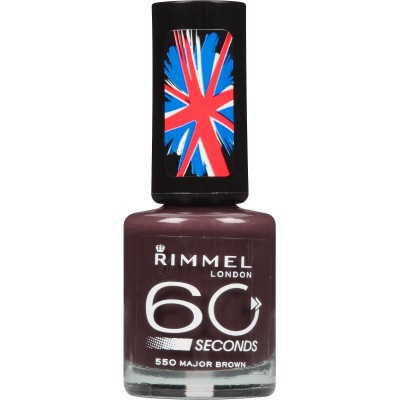 Image of   Rimmel 60 Seconds 550 Major Brown 8 ml