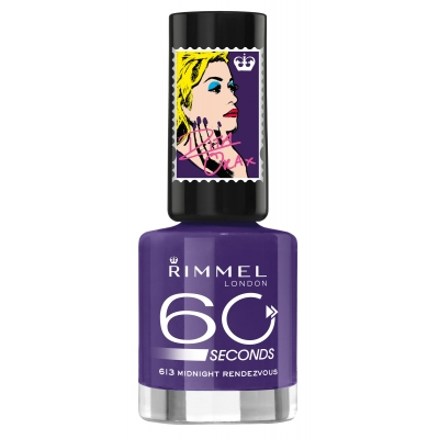 Image of   Rimmel 60 Seconds 613 Midnight Rendevouz 8 ml