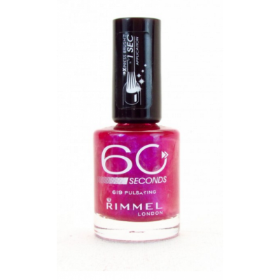 Image of   Rimmel 60 Seconds 619 Pulsating 8 ml