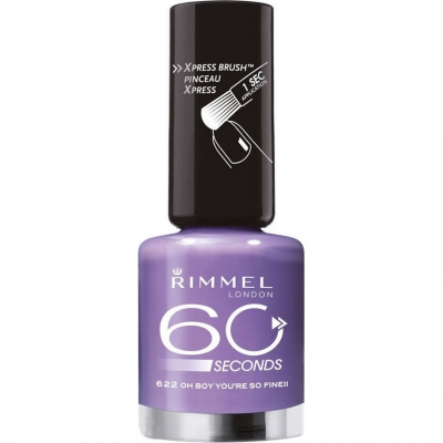 Image of   Rimmel 60 Seconds 622 Oh Boy You're So Fine 8 ml