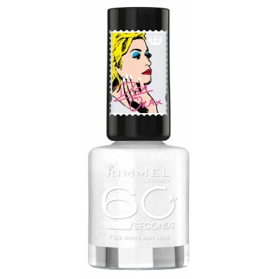 Image of   Rimmel 60 Seconds 703 White Hot Love 8 ml