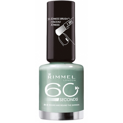 Image of   Rimmel 60 Seconds 813 Round And Round The Garden 8 ml