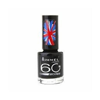 Image of   Rimmel 60 Seconds 820 Hot Black To Go 8 ml