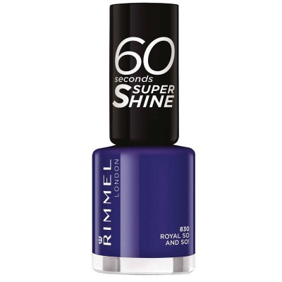 Image of   Rimmel 60 Seconds 830 Royal So And So! 8 ml