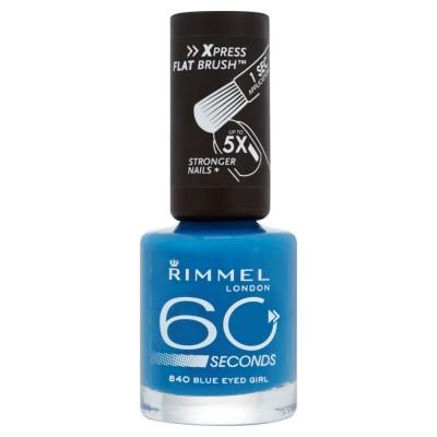 Image of   Rimmel 60 Seconds 840 Blue Eyed Girl 8 ml